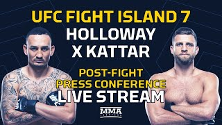 UFC Fight Island 7: Holloway vs. Kattar Post-Fight Press Conference Live Stream - MMA Fighting
