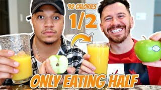 I ONLY Ate HALF Of What My Friends Ate For 24 Hours!! (IMPOSSIBLE FOOD CHALLENGE) FT ITSYEBOI
