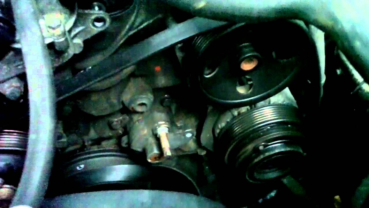 How To Replace Belt Tensioner Shock Mercedes W202 C230