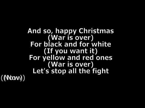 John Lennon - Happy Xmas [War Is Over] Lyrics HD