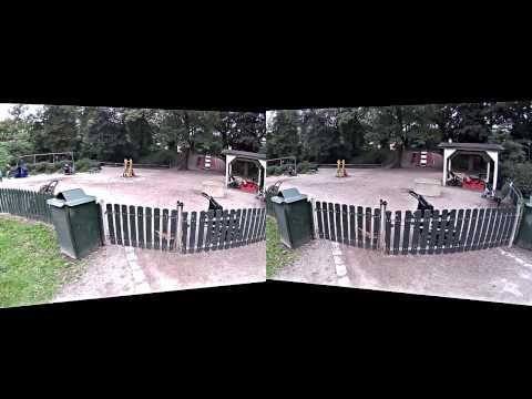 BeMeCam: Vanadislunden park walk (Oculus Rift edit)