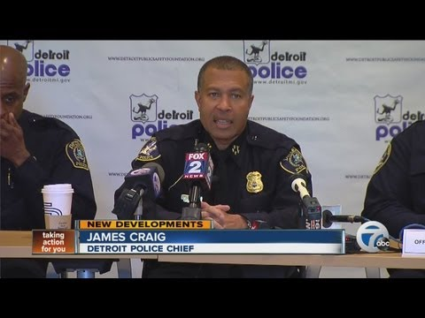 Detroit police chief announces changes to executive team