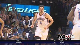 VIDEO - Thunder to retire Nick Collison's No. 4
