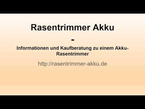 Rasentrimmer Akku - Endlich einen schönen Rasen