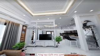NGÔI NHÀ XINH - mẫu thiết kế nội thất nhà Anh Hòa đường Lâm Thao Quân Tân Bình.