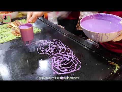 Festival Street Food Vietnam 2018 - Malaysian Food Roti Canai