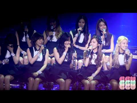 140311 SNSD's songs 소녀시대가 가장 좋아하는 내 노래 스케치북