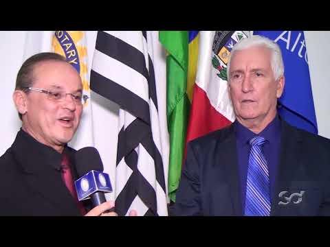 Rotarys Clubs: Luiz Bernardoni registra a transmissão de posse