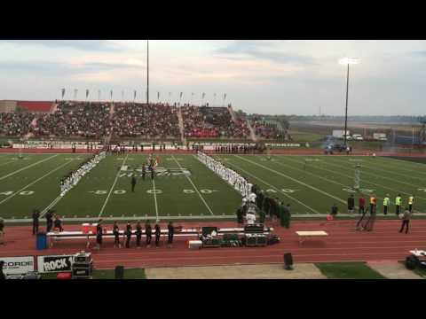 2016 U Of S Huskies Football National Anthem & Jet Fly By Armed With Harmony