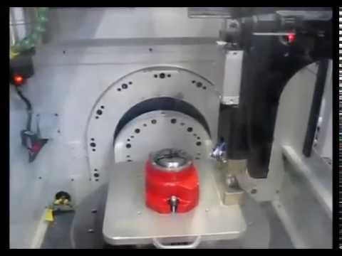 SPINNER U5 - Compact 5-axis Milling Machine