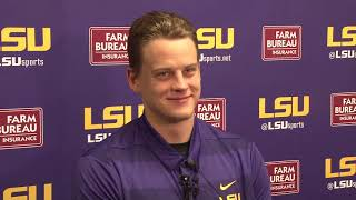 """""""Keeping our foot on the gas pedal is really important for us this week."""" QB Joe Burrow Presser 9.17"""