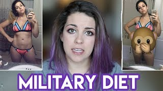 """I Tried The """"Military"""" Diet For A Week"""
