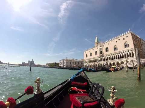 Venice Italy Gongola ride 2014