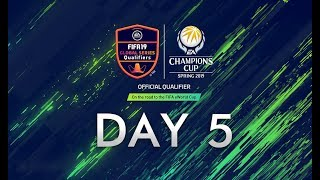 FIFA Online 4 : EACC Spring 2019 Day 5