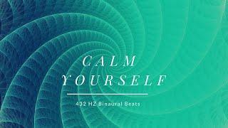 432 HZ Binaural Beats - Become a Calm Person - Deep Sleep Edition