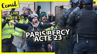 LIVE 2 PARIS BERCY GILETS JAUNES