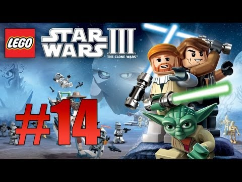 Lego Star Wars 3: The Clone Wars - Ch. 3 Jedi Crash (Count Dooku) - Part 14 - Smashpipe Games