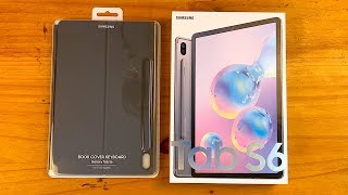 Samsung Galaxy Tab S6 & Book Cover Keyboard Unboxing and First Impressions