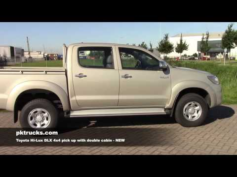 to3790 Toyota Hi-Lux 4x4 pick up with double cabin