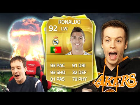 RONALDO!!!! - FIFA 15 Ultimate Team Pack Opening