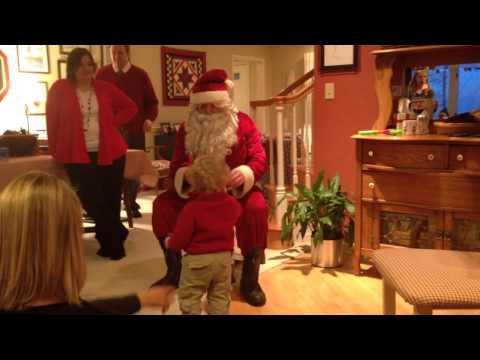 Brady and Santa