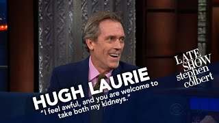 Hugh Laurie Finally Says 'Thank You' To Stephen