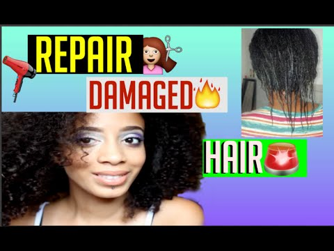 How To Repair Damaged African American Hair