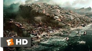 2012 (2009) - The Sinking of Los Angeles Scene (3/10) | Movieclips