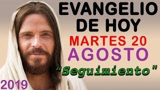 Evangelio de Hoy Martes 20 de Agosto de 2019 | REFLEXIÓN | Red Catolica