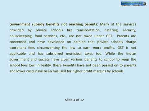 Private Profiteering Schools Negative Impact On My Children - Video By B.K Vijay
