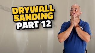 Complete Drywall Installation Guide Part 12 Sanding