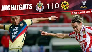 Highlights & Goals   Chivas vs. América 1-0   Telemundo Deportes