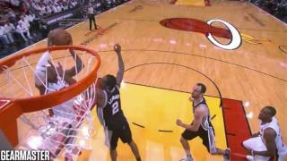 2013 NBA Finals - San Antonio vs Miami - Game 6 Best Plays