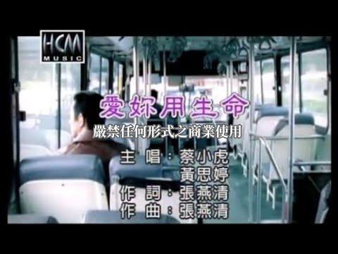 蔡小虎vs黃思婷-愛妳用生命(練唱版)