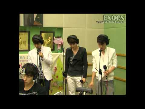 【EXOCN原創字幕】120507 KBS Kiss The Radio EXO-K CUT (中字)
