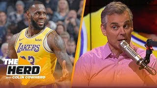 Colin Cowherd on LeBron's comments about Cavs departure, talks Bradley Beal in LA | NBA | THE HERD