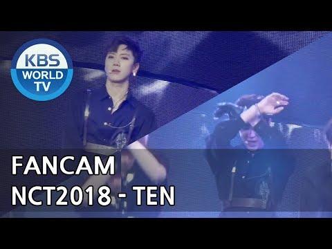 [FOCUSED]NCT2018's TEN - Black on Black [Music Bank / 2018.04.20]