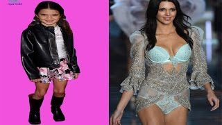 Kendall Jenner - from 1 to 21 years old