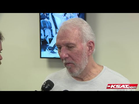 Popovich on young players growing up this season for Spurs, Dejounte Murray returning