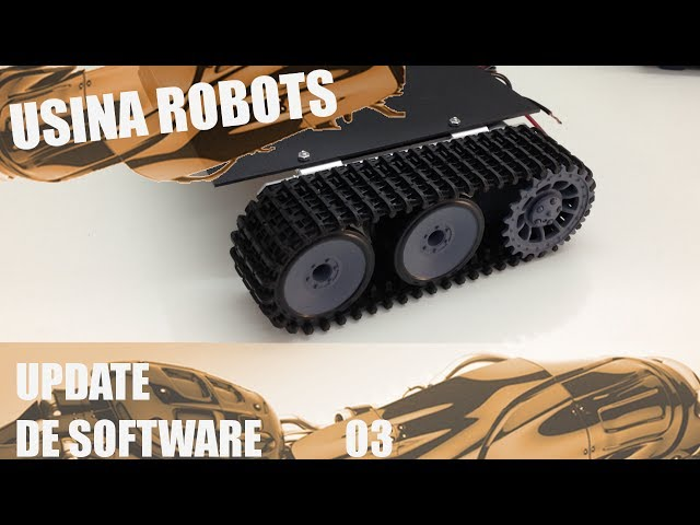 UPDATE DE SOFTWARE 03 | Usina Robots US-2 #027