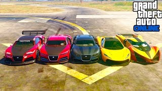 T20 Vs Nero1 Vs Nero2 Vs Adder Vs X80 Proto GTA Online !