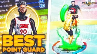 OVER POWERED POINT GUARD BUILD IN NBA 2K20 - UNLIMITED ANKLE BREAKERS + GREENLIGHTS EVERYTIME