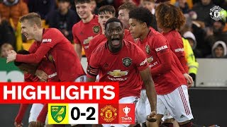 FA Youth Cup Highlights | Norwich 0-2 Manchester United | The Academy