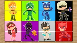 PJ Masks Learn Colors Animated Game Video for Kids
