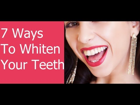 Ways To Whiten Your Teeth at Home