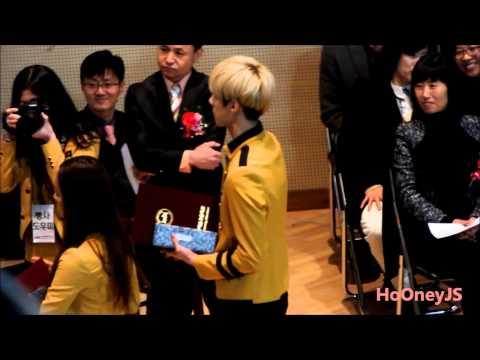 130207 Sehun's graduation