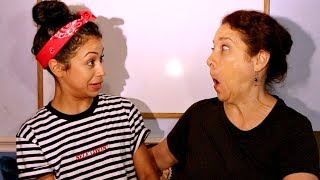 TEACHING MY MOM SLANG + SPILLING TEA!