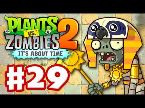 Plants Vs. Zombies 2: It's About Time - Gameplay Walkthrough Part 29 - Ancient Egypt (iOS) - Smashpipe Games