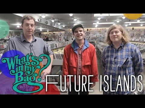 Future Islands - What's In My Bag?
