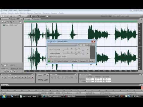 como usar el auto-tune y poner efectos en vivo (adobe audition)